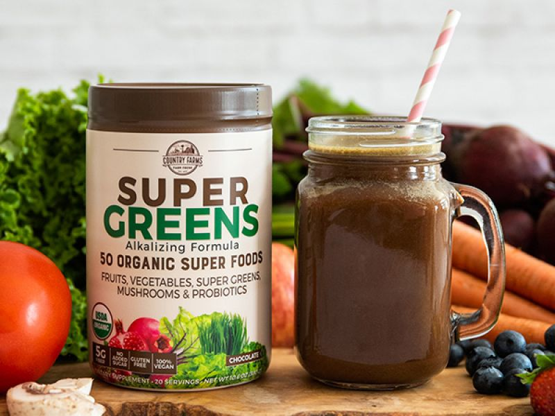 Super Greens - Chocolate Flavor