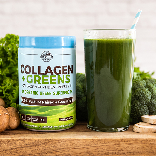 Collagen + Greens Powder