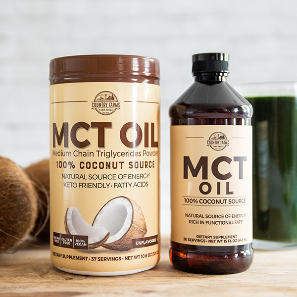 MCT Oil Powder and MCT Oil