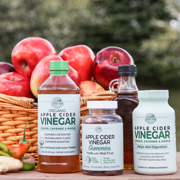 Apple Cider Vinegar Liquid & Capsules