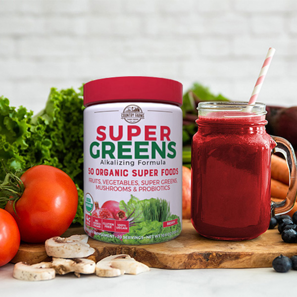 Super Greens – Berry Flavor