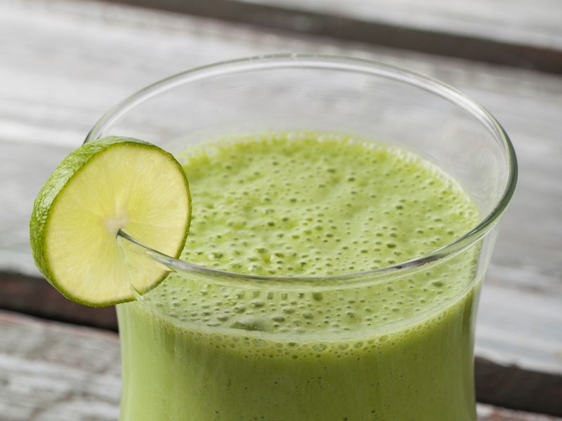 Frosty Green Smoothie