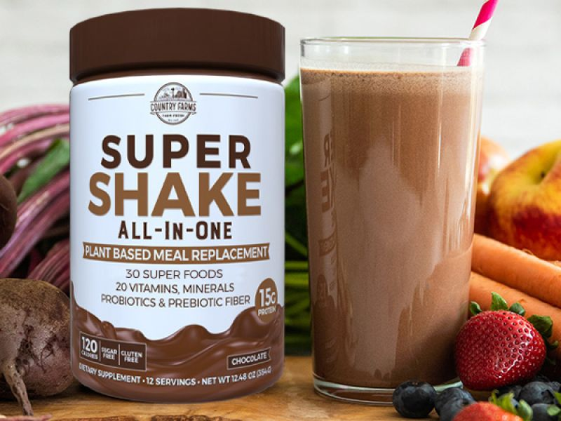 Super Shake All-In-One – Chocolate Flavor